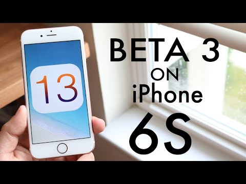 iOS 13 BETA 3 On iPHONE 6S! (Review)