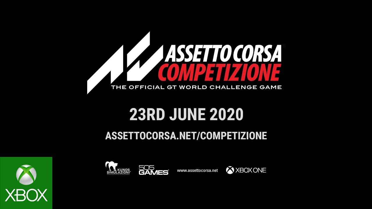 Assistir - Assetto Corsa Competizione Release Date Announcement - online