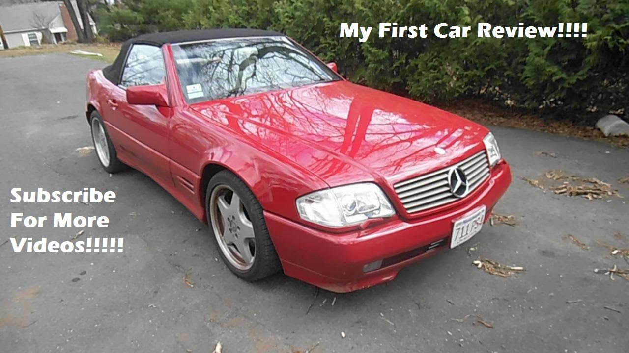 1995 Mercedes-Benz SL500 AMG - My First Car Review ...