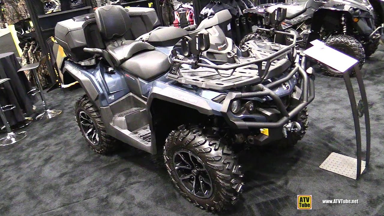 2017 Can Am Outlander Max Limited 1000r Recreational Atv Walkaround 2016 Aimexpo Orlando You