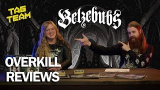 BELZEBUBS - Pantheon of the Nightside Gods Album Review | Overkill Reviews