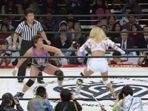 Akira Hokuto (AJW) vs Shinobu Kandori (LLPW)
