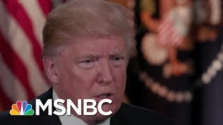 Maddow: President Trump Isn't Attacking Critics, He's Going After Witnesses | Rachel Maddow | MSNBC
