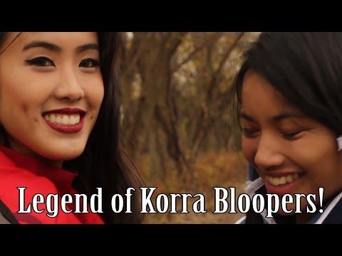 Legend of Korra Fan Film Bloopers!
