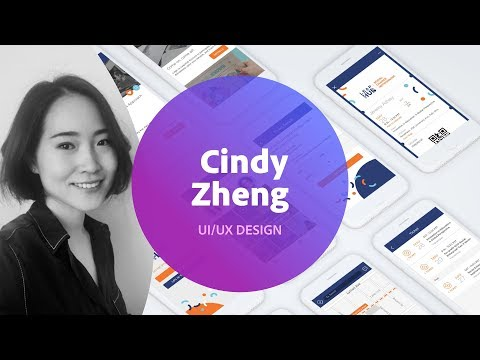 Live UI/UX Design with Cindy Zheng - 1 of 3