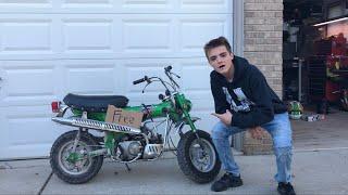 FOUND A FREE DIRTBIKE Honda Trail 70 (Barn Find 20 Years In Garage)