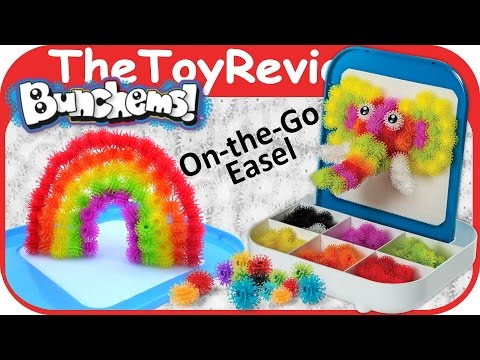 Bunchems! On‑The‑Go Travel Easel Unboxing Toy Review by TheToyReviewer