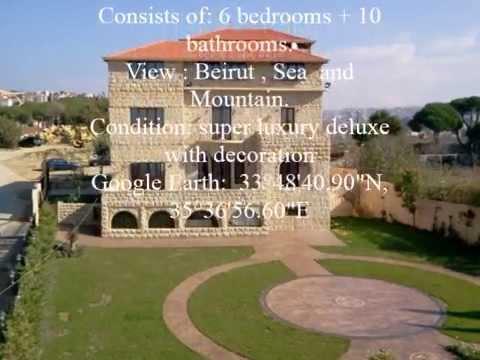 Villa Aley-Lebanon / Facing Prince of Qatar Castle.