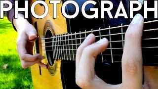 Photograph - Ed Sheeran (Solo Acoustic Guitar) Eddie van der Meer [Request Video #2]