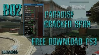 [PS3/SPRX] Paradise SPRX Cracked FOR BO2 - PS3 W/D FREE DOWNLOAD !