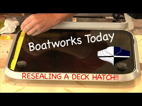 How To Seal A Boat Deck Hatch