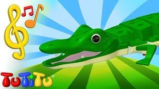 Piosenki po angielsku dla dzieci | Krokodyl | Nauka angielskiego dla dzieci