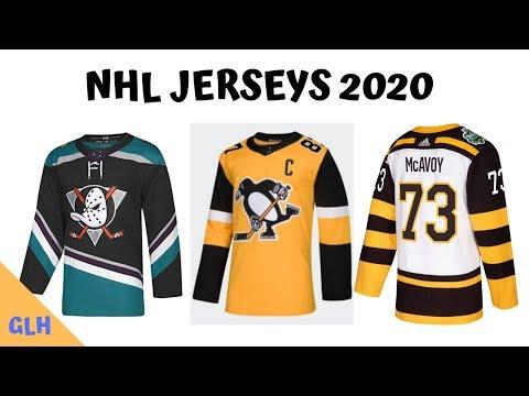 New Nhl Jerseys 2020 3rd Jerseys for NHL 2020 Season   YouTube