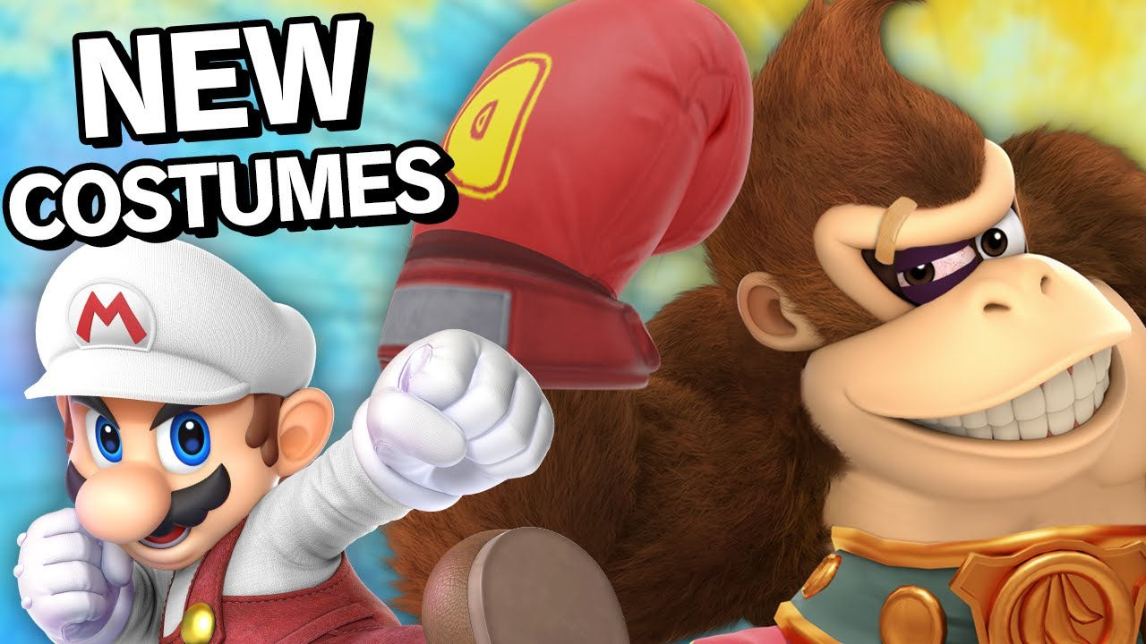 EVERYONE In Smash Bros. Gets A New Costume - 64 Fighters
