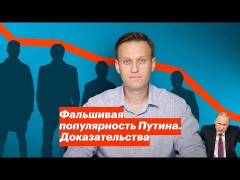 Фальшивая популярность Путина.