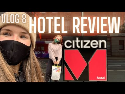 VLOG 8: WE HAVE TO LEAVE OUR FLAT | HOTEL REVIEW