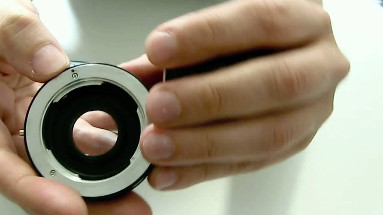 EOS   Minolta MD Objektiv Lens  Macro Adapter To  Canon EOS Kamera EF Mount MD