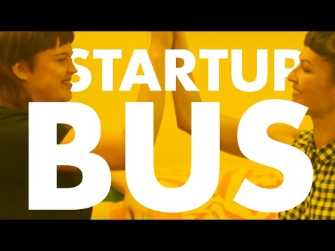 Get your tech business started in 72 hours  - StartupBus Europe teams: coders, designers, hustlers