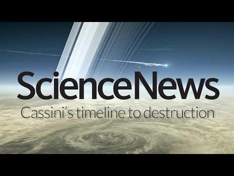 Cassini's timeline to destruction | Science News