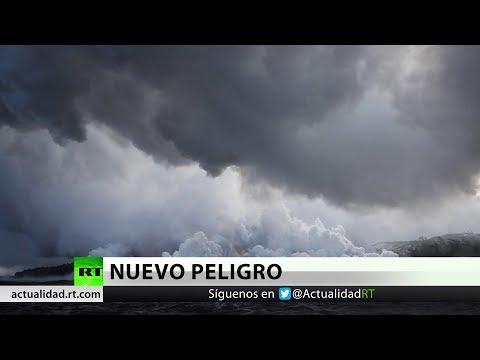 Nueva amenaza en Hawái: Nubes de ácido y vidrio