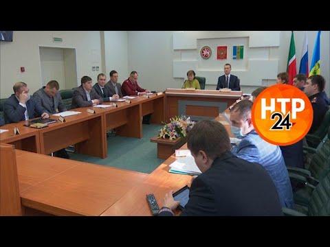 В Нижнекамске прошло заседание оперативного штаба по борьбе с коронавирусом