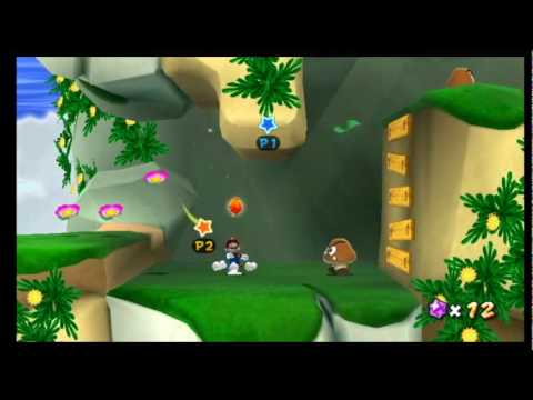 Super Mario Galaxy 2 - World 2: Honeybloom Galaxy - Star 2 ...