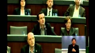 Albin Kurti replikë ndaj Hashim Thaçit në lidhje me Gjykatën Speciale