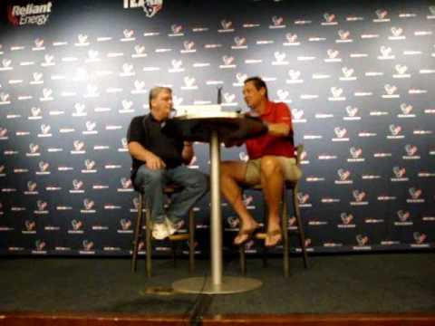 Rick Dennison Houston Texans Q&A