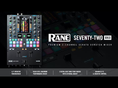 RANE SEVENTY-TWO MKII | Introduction