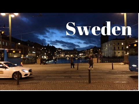 Welcome to Sweden!/ In Love with Scandinavia/Travel Vlog