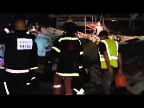 South African workers trapped after shopping mall collapses in Durban  report | World news