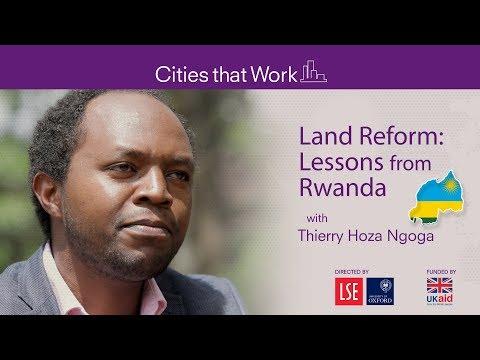 Land reform: Lessons from Rwanda