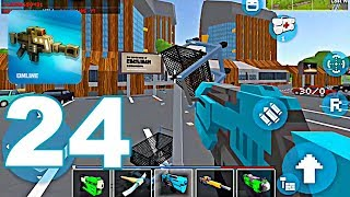 Mad GunZ - Gameplay Walkthrough Part 24 - NEW UPDATE, Battle Royale Mode (Android Games)