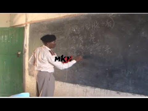 CHIEF VOLUNTEERS TO TEACH PUPILS AFTER TSC WITHDRAWS TEACHERS FROM NORTH EASTERN DUE TO INSECURITY!