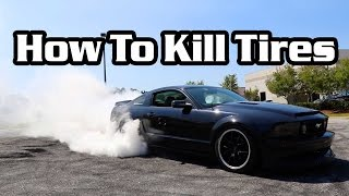 How To Properly Dispose of Old Tires + 600RWHP Terminator Ride Along