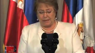 Chile president in Manila for APEC, state visit
