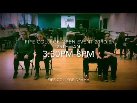 Fife college Open event 2018