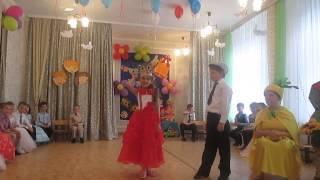 сказка 'Репка на новый лад' на выпускном в детском саду№12 Приднестровье г.Рыбница