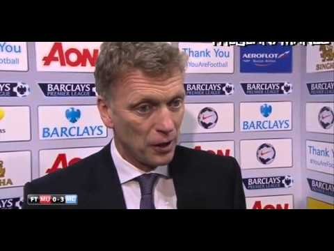 Manchester Utd 0-3 Manchester City - David Moyes Interview 2014