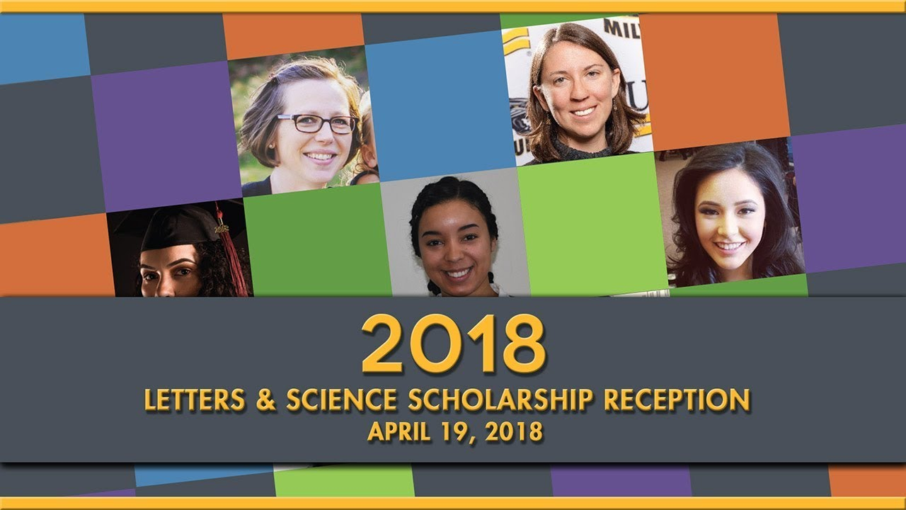 Uwm College Of Letters Science 2018 Scholarship Reception Youtube