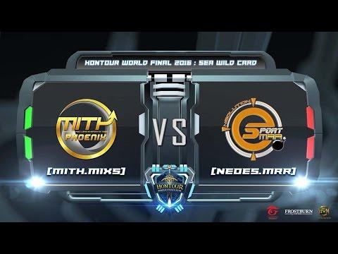 HoN - SEA Wild Card 2016 Final round - MiTH.MiXs vs NeoEs.MRR