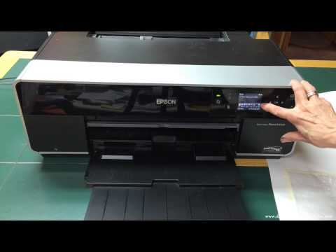 Epson R3000—Quick Look at Digital Printing Alternative Surfaces