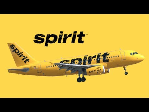 Spirit Airlines ACTUAL Safety Instructions