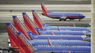 Top 10 Airlines - Top 5 Largest American Aircraft Fleet(2015)