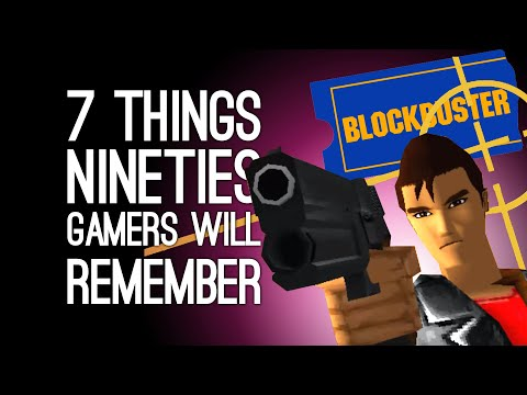 7 Things All Gamers From the Nineties Will Remember