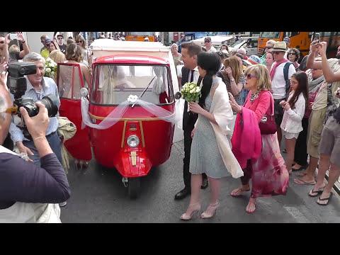 Matrimonio vip a Capri: si sposa la figlia di De Sica