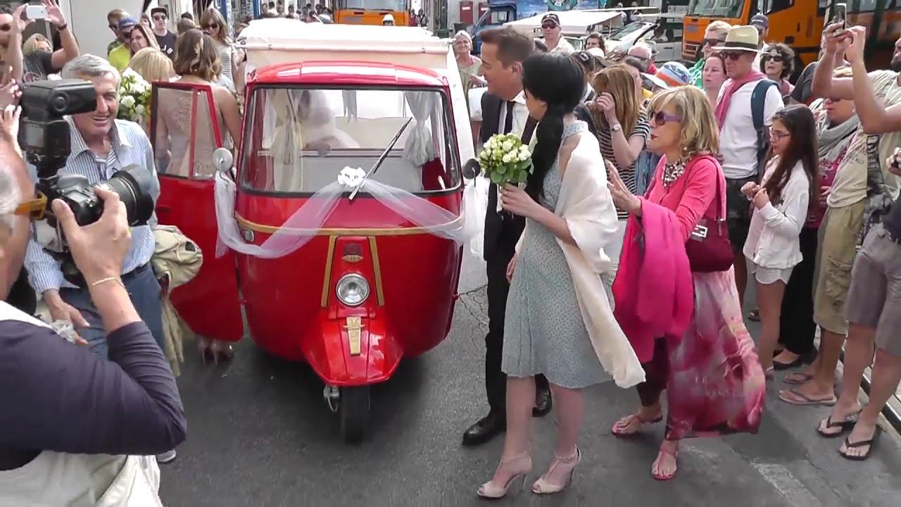 Matrimonio Con Uomo Con Figli : Matrimonio vip a capri: si sposa la figlia di de sica youtube
