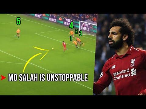 Mo Salah Plays Football Like Madden NFL!