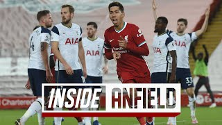 Enjoy our alternative look at liverpool's 2-1 victory against tottenham as liverpool fans pay tribute to gerard houllier, and roberto firmino seals a deserve...