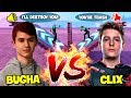 MSF CLIX *SHOCKED* When 1v1 Against Sen Bugha! ( Battle Of  The Most Skilled BuildFighters )
